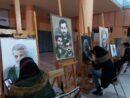 ورکشاپ هنرهای تجسمی در ارومیه گرامیداشت نخستین سالگرد شهادت حاج قاسم سلیمانی