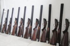 کشف و ضبط ۱۱  قبضه سلاح شکاری قاچاق در ارومیه