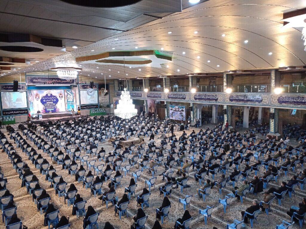 مراسم اهداء ۵۰۰ سری جهیزیه به نوعروسان مناطق محروم