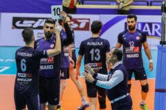 آذرباتری ارومیه مقابل تیم پیکان تهران شکست خورد