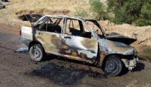 سه نفر از اعضای یک خانواده در آتش سوختند