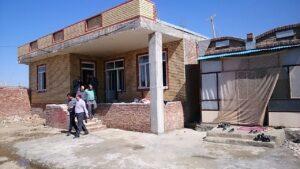 بازسازی مناطق زلزله زده خوی ۸۷ درصد پیشرفت فیزیکی دارد
