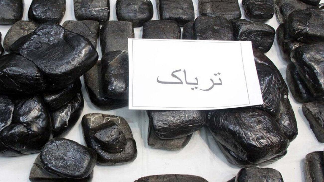 کشف ۷۷ کیلوگرم تریاک در شهرستان بوکان