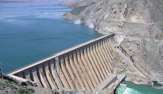 رهاسازی ۲۵ میلیون متر مکعب آب از سد مهاباد به سمت دریاچه ارومیه