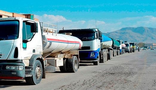 خطر انفجار ۲۵۰۰ تانکر سوخت در نقطه صفر مرزی آذربایجانغربی