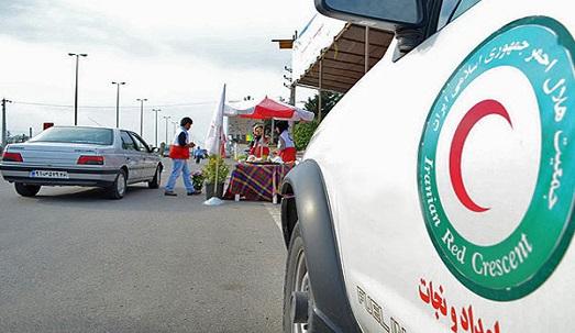 جمعیت هلالاحمر آذربایجان غربی در تعطیلات نوروزی در خدمت مسافران است