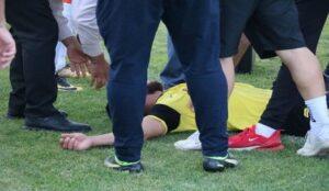 بازیکن تیم فوتبال 90 ارومیه از خفگی نجات یافت