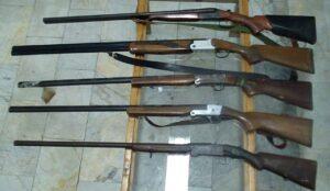 کشف انواع سلاح شکاری و جنگی در ارومیه