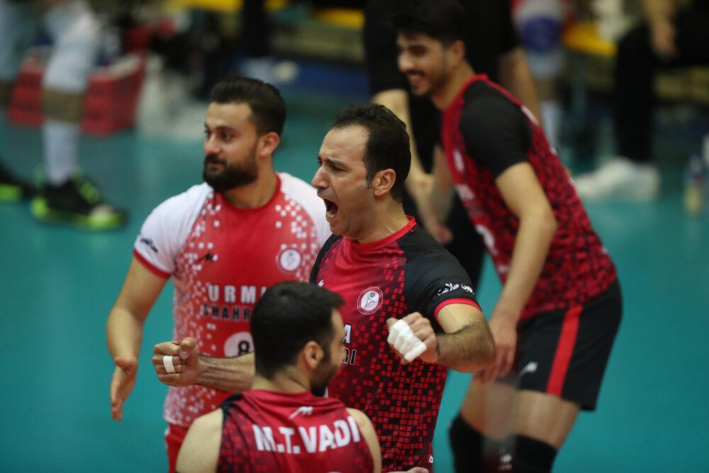 شهرداری ارومیه شهرداری گنبد / پلی آف لیگ برتر والیبال مردان