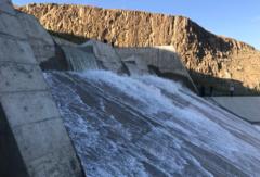 آغاز رهاسازی آب از سد دریک به دریاچه ارومیه