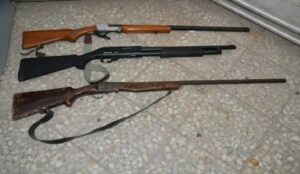 کشف اسلحه شکاری و جنگی در شهرستان بوکان