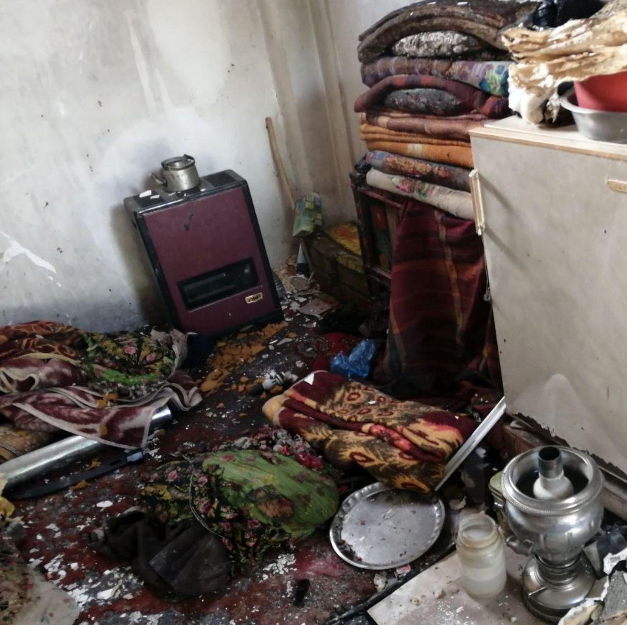 انفجار مهیب گاز در ساختمان مسکونی دو مصدوم بر جای گذاشت+عکس