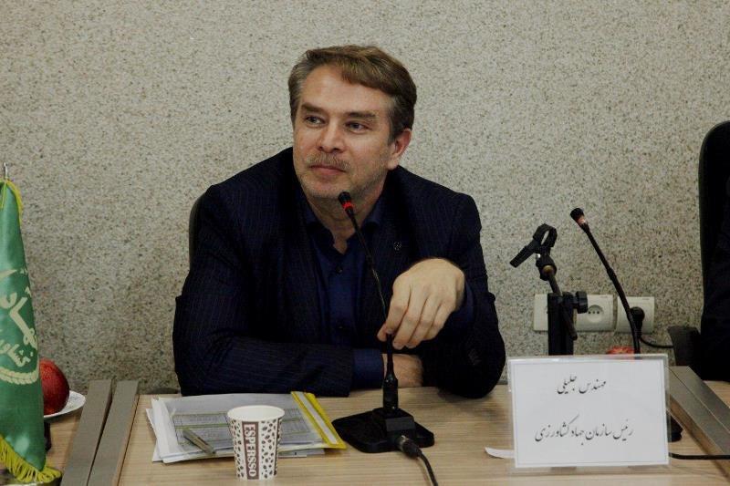 تجهیز 70 هزار هکتار از اراضی کشاورزی آذربایجان غربی به آبیاری نوین