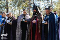 سوگواری ارامنه اصفهان برای کشته شدگان ارمنی جنگ قره باغ!