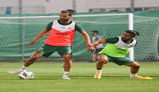 گزارش تصویری تمرین تیم فوتبال تراکتور در امارات
