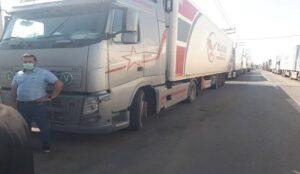 افزایش تردد کامیون ها در گمرکات استان ناشی از افزایش صادرات است