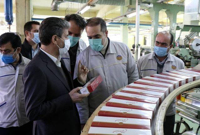 موانع راه اندازی خط تولید جدید مجتمع دخانیات به زودی رفع می شود