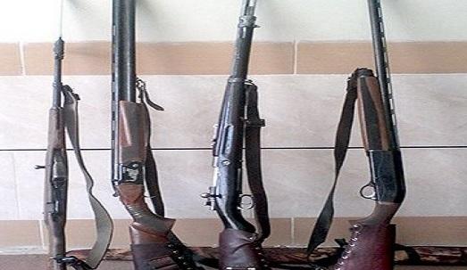 کشف ۴ قبضه اسلحه در سردشت